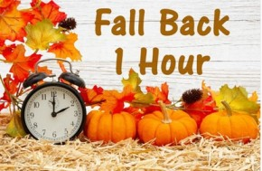 Time to Turn Your Clocks Back an Hour