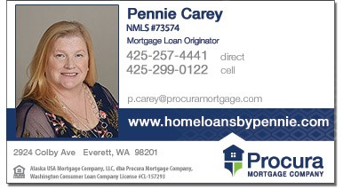 Pennie Carey at Procura Mortgage Company